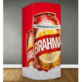Adesivo geladeira Brahma