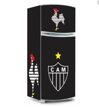 Adesivo geladeira Atlético