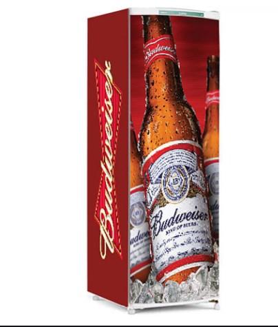 Adesivo geladeira Budweiser