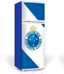 Adesivo geladeira Cruzeiro